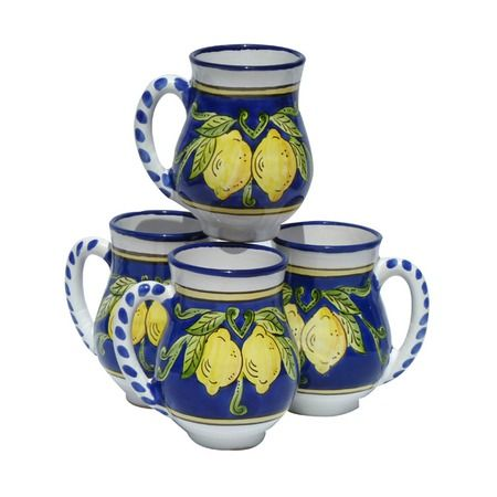 I pinned this Citronique Design Large Mugs - Set of 4 from the Citrus Grove event at Joss and Main!