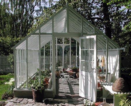 Swedish garden house