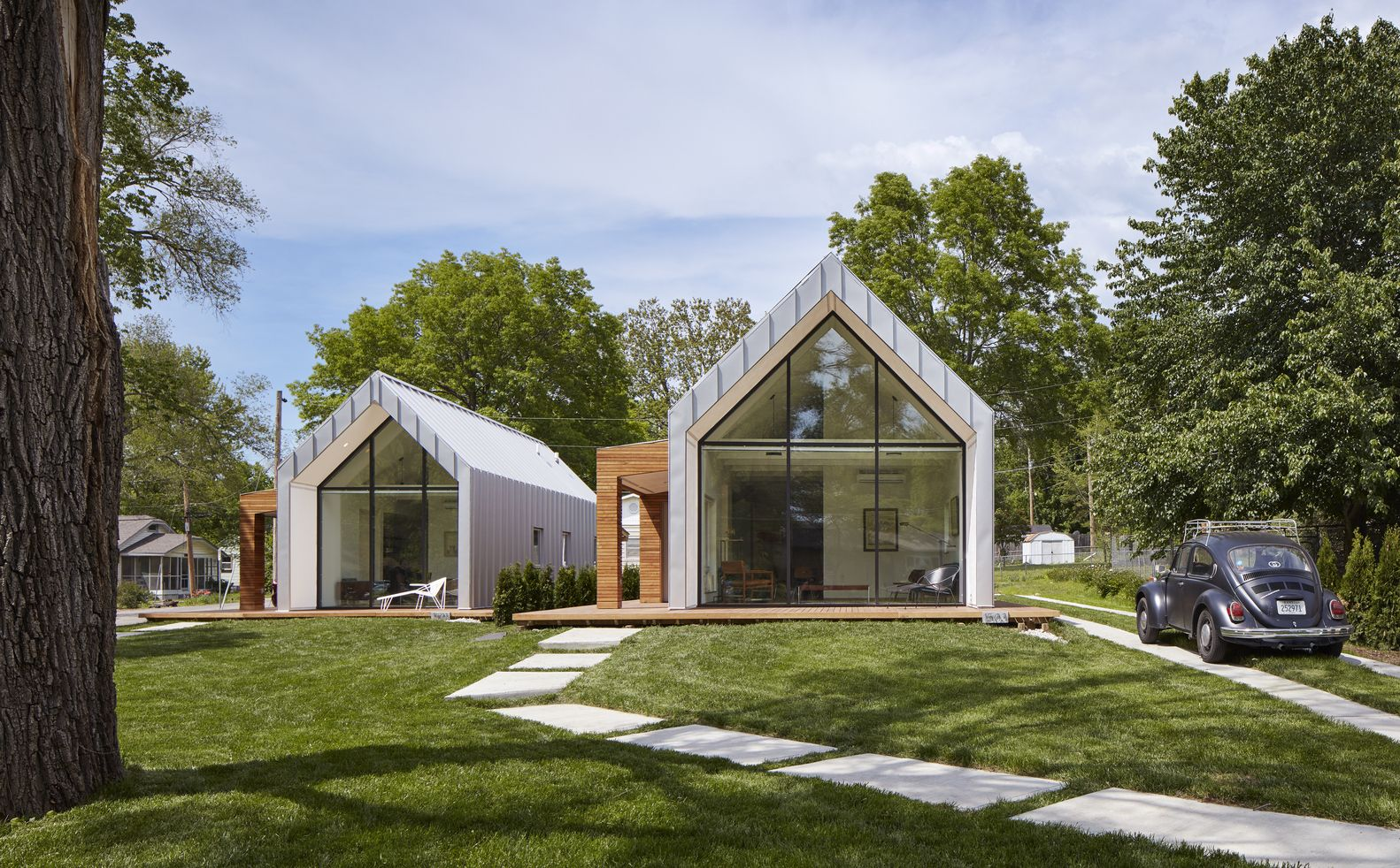 Gallery Of The Houses On Oak Hill Avenue Studio 804 1 In 2020 Architecture House Architecture Sustainable Design