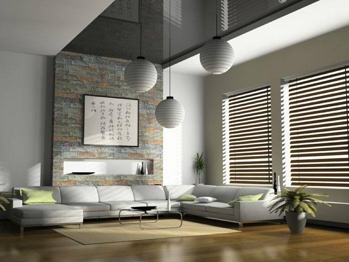 Wohnzimmer Rollos ~ Fenster sichtschutz rollos plissees jalousien oder