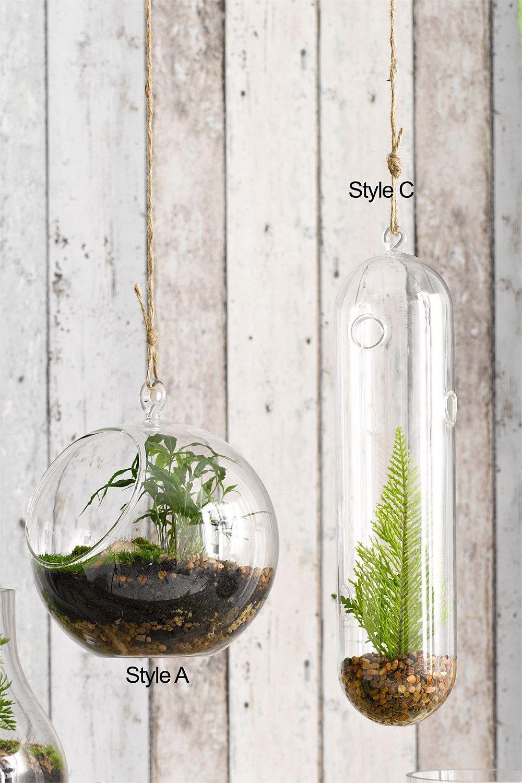Garden Equipment & Garden Decor Products - Hanging Glass ...