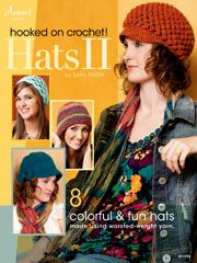 Hooked on Crochet! Hats II from Anniescatalog.com -- Step out in style -- from head to toe -- with the 8 easy-to-follow crochet hat patterns in Hooked on Crochet! Hats II by Sara Dudek.