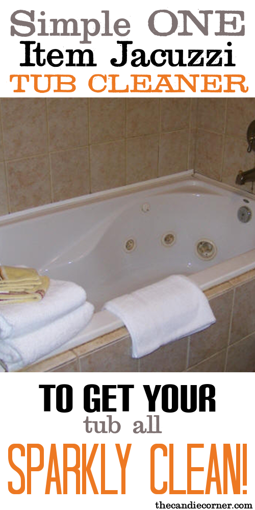 Simple One Item Jacuzzi Tub Cleaner | Tubs, Blog and Helpful hints