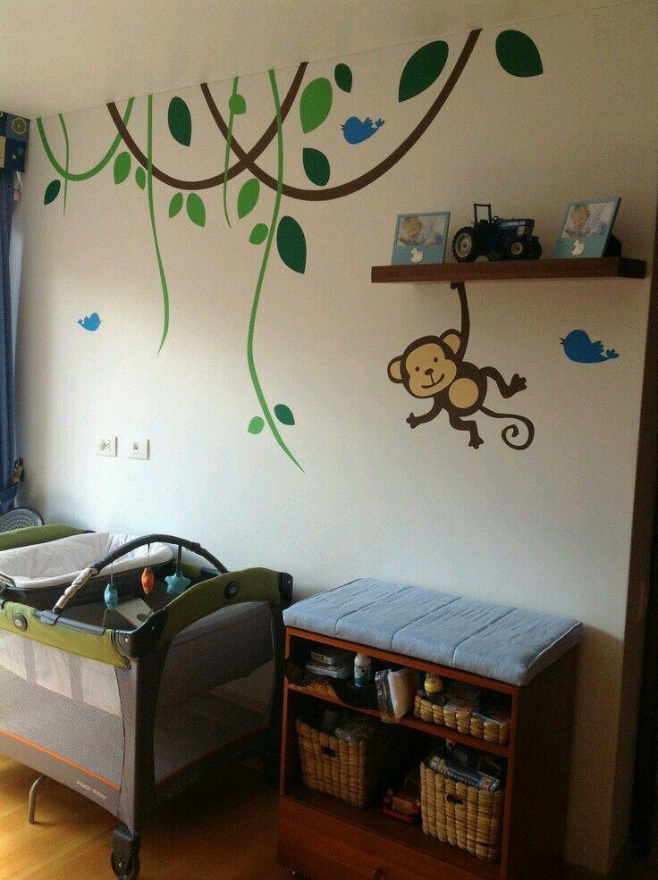 Pin de Bosco Sibrian en pared infantil  Decoracion