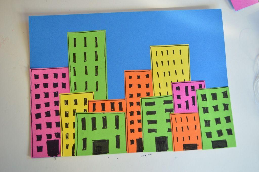 Elenarte: Manualidades para niños: Ciudades de papel. | CrAftS ...