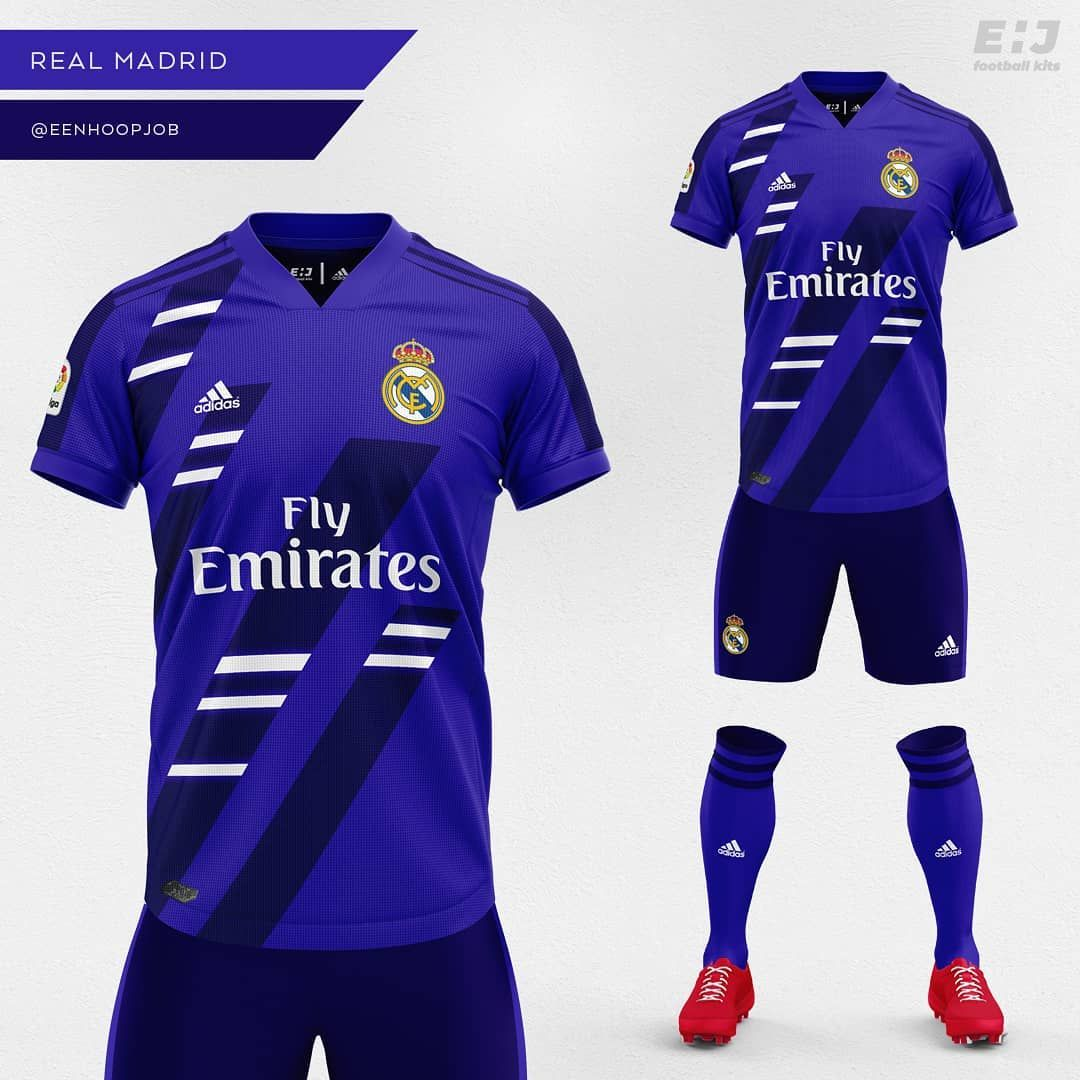 on sale b5507 83d43 Real Madrid Away Kit Concept. Please rate 1-10. Thoughts ...