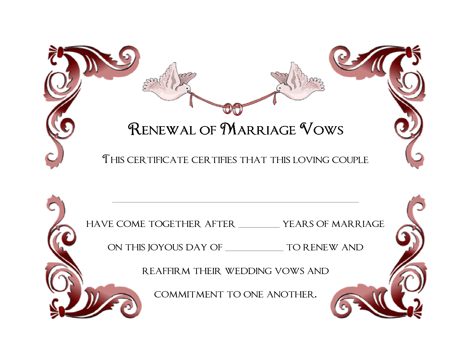 renew wedding vows with renewal of marriage renewal of marriage
