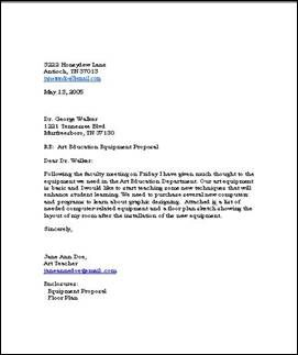 Business Letters | A Business Letter About Purchasing New Equipment Businessletter