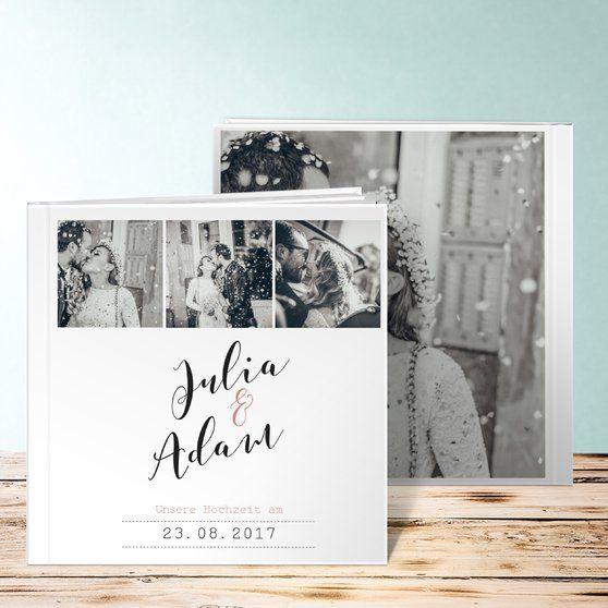 Ewiglich Hardcover 215x215 mm Zartes Rosa | Album, Album design and ...