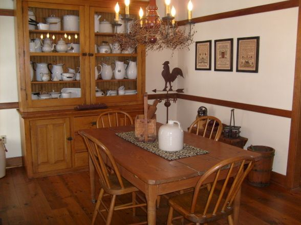 Explore Primitive Dining Rooms, Primitive Decor And More!