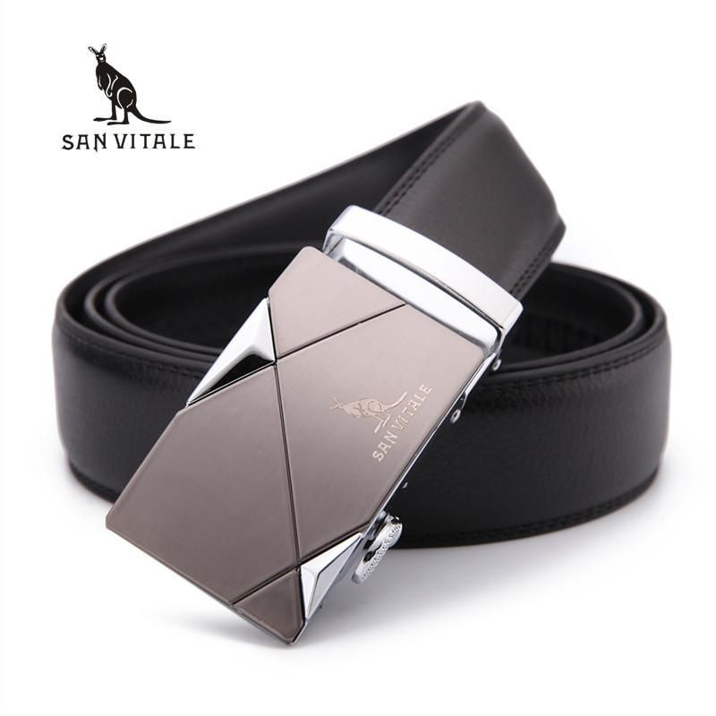 New Designer Men's Belts Luxury Man Fashion Genuine Leather