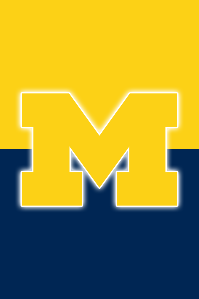 Free Michigan Wolverines iPhone stall in seconds