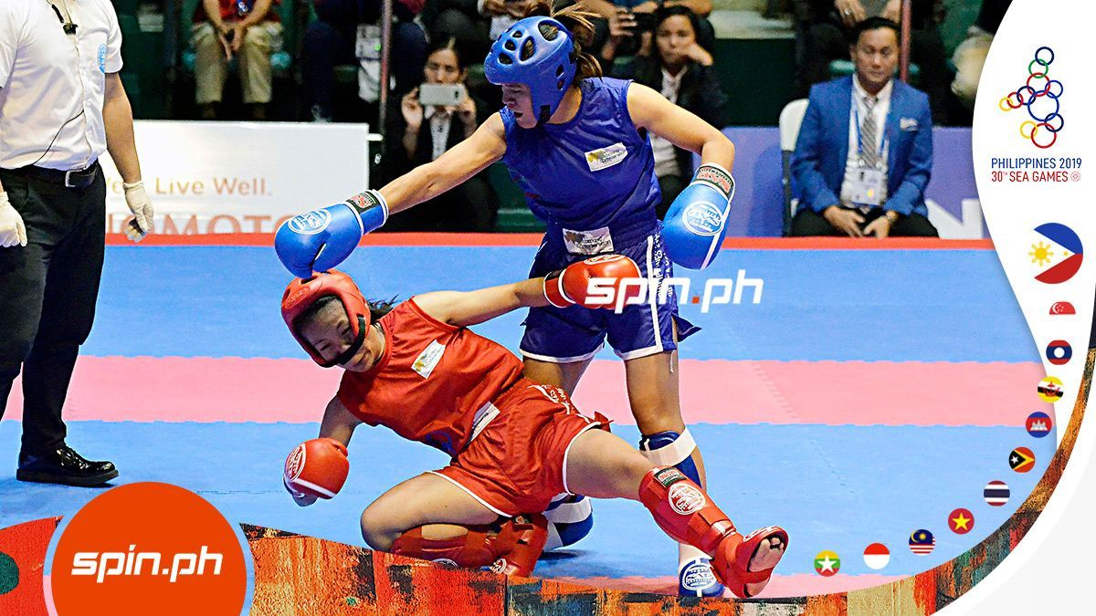 Pro MMA fighter Gina Iniong bags SEA Games kickboxing gold