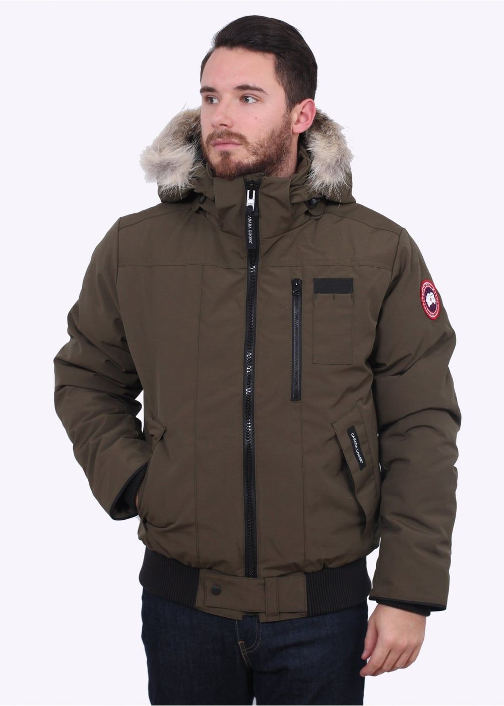 7935f7201c1 Canada Goose Borden Bomber Jacket - Military Green