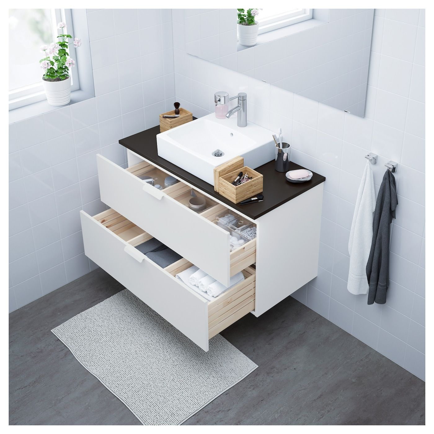 IKEA / TÖRNVIKEN Bathroom vanity white