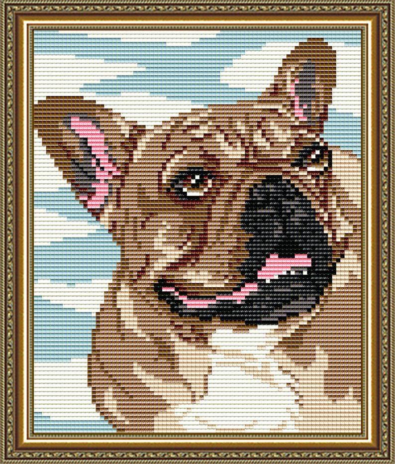 Diy diamond painting kit dog french bulldog full square