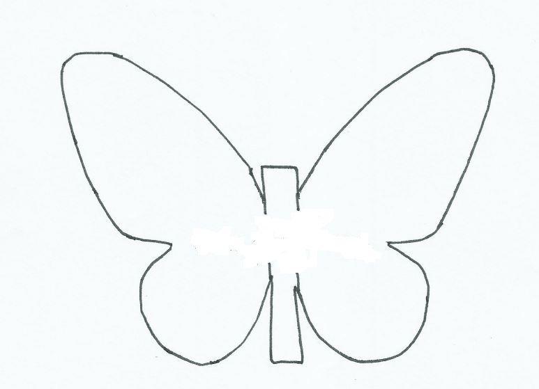 Mariposas de papel para decorar las paredes - Papel para decorar paredes ...
