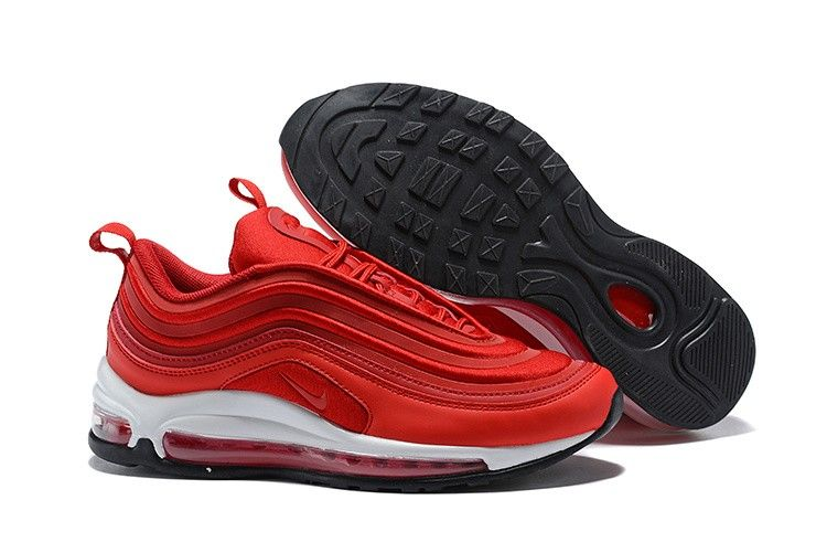 Mens And Wmns Nike Air Max 97 Ultra 17 Gym Red Speed Red Black In