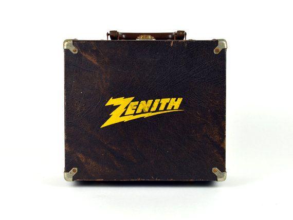Mini Vintage Black Zenith TV Television Tube by ZintageArchive