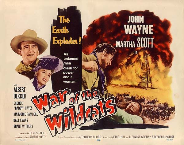 DOUBLE FEATURE In Old Oklahoma - War of the Wildcats VIDEO of…