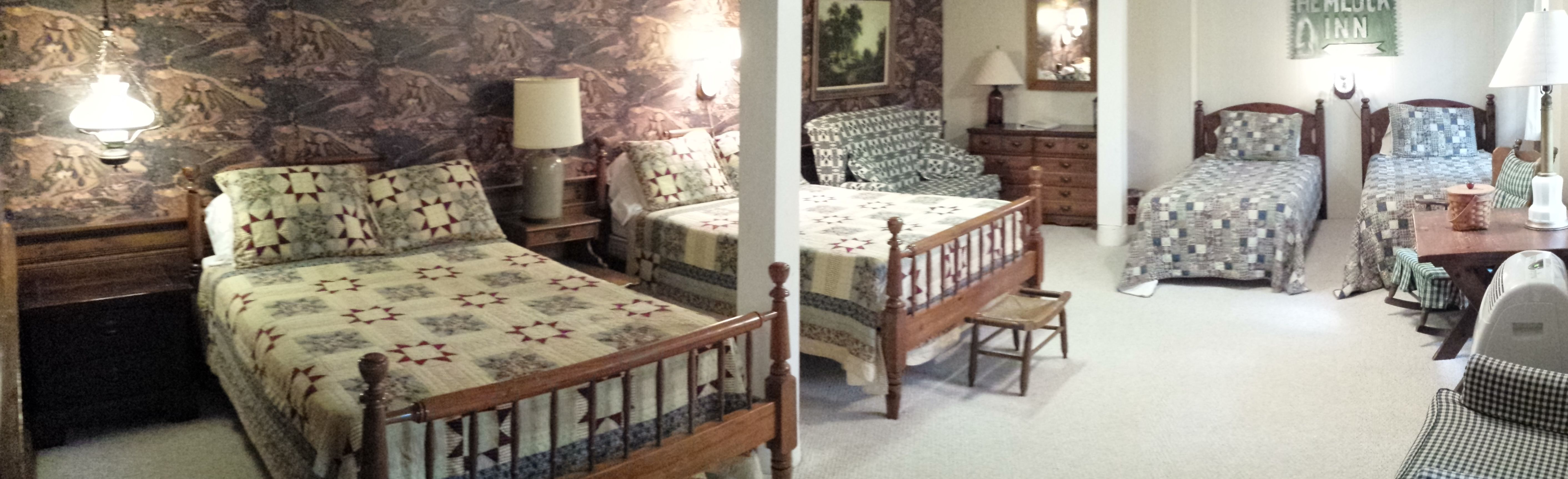 Hemlock Inn Romantic bed and breakfast, Bed and