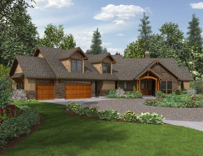Plan The Silverton Craftsman Style House Plans Ranch