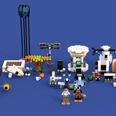 Subnautica Underwater Base In The Grand Reef In 2020 Custom Lego Underwater Lego