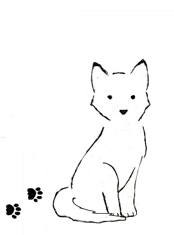 A quick husky dog outline tattoo possibly to go on my other ankle to match  the 1eca6ae2cd