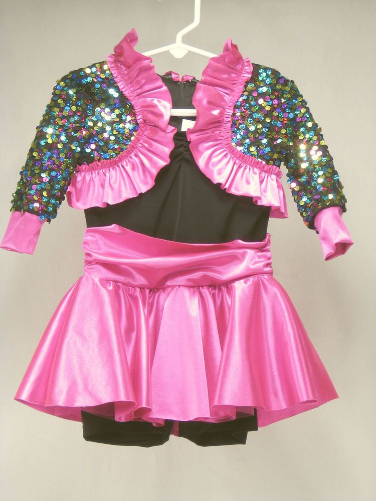 Girls Dance Costume XS Weissman My New Philosophy 6908 Competition Tap Jazz NEW