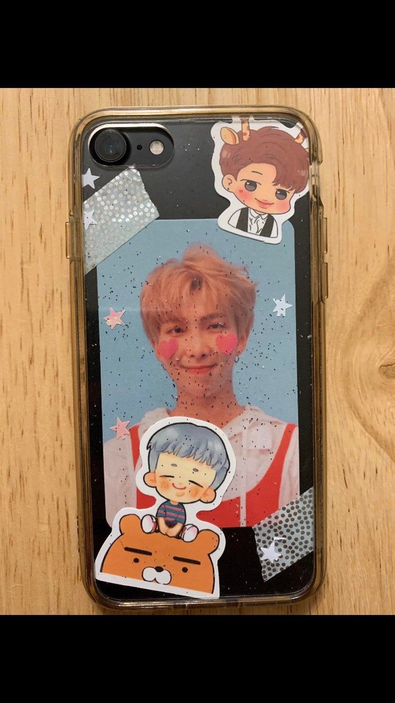 Bts phone case decoration kit in 2020 with images diy