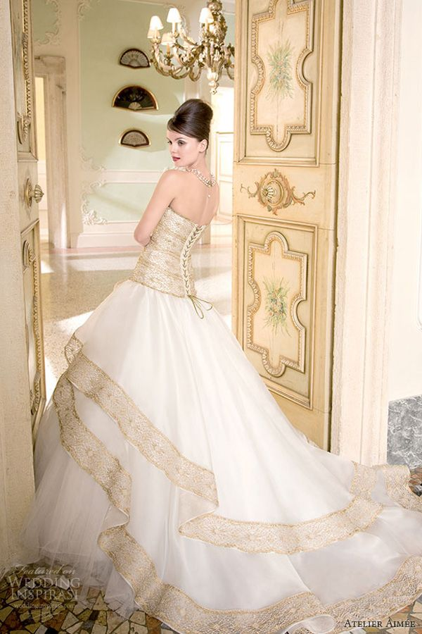 Atelier Aimée Bridal 2014 Pre-Collection | Accents, Wedding! and ...