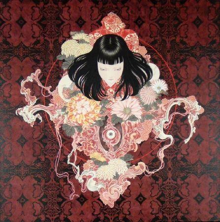 takatoyamamoto 美術家 怖い絵 日本画