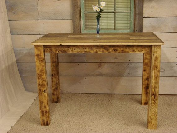 Farmhouse Counter Height Table 50 X 30 X 36 H Counter Height