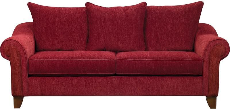 Reese Chenille Sofa - Red | NEW HOME FURNISHINGS | Red sofa ...
