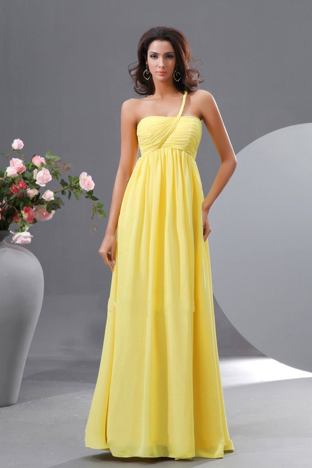 Unique Bridesmaids Dresses Yellow