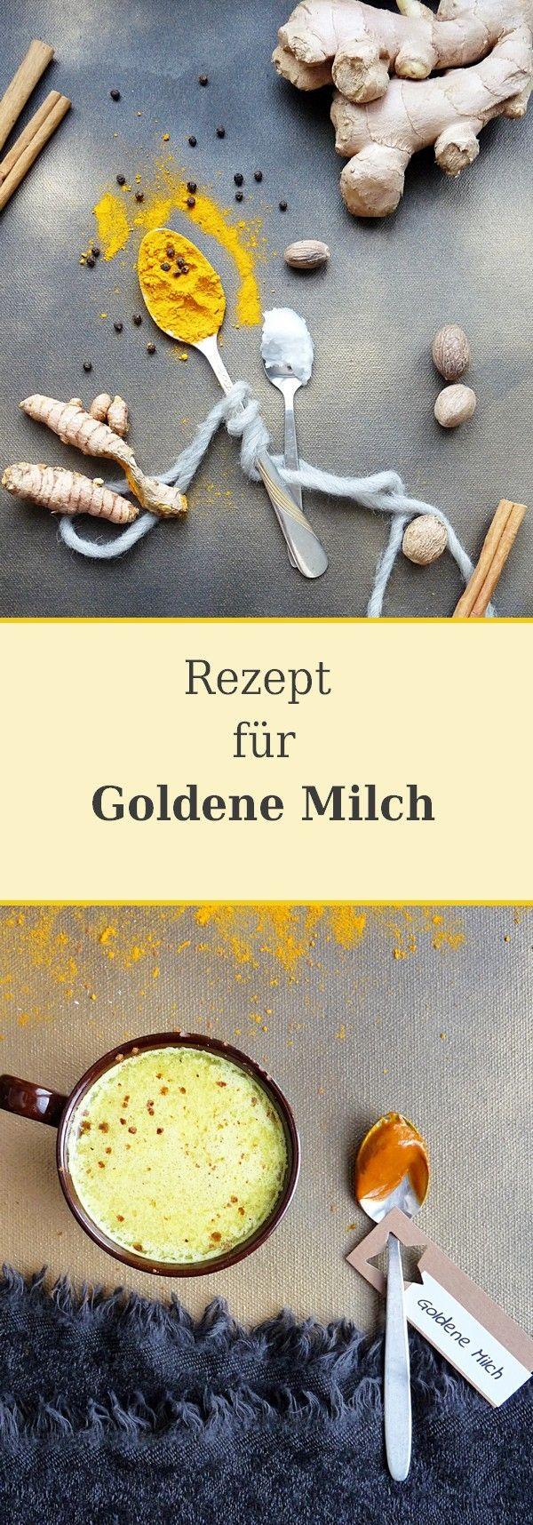 Trendgetränk Goldene Milch - I love it | Rezept | Ayurvedische küche ...