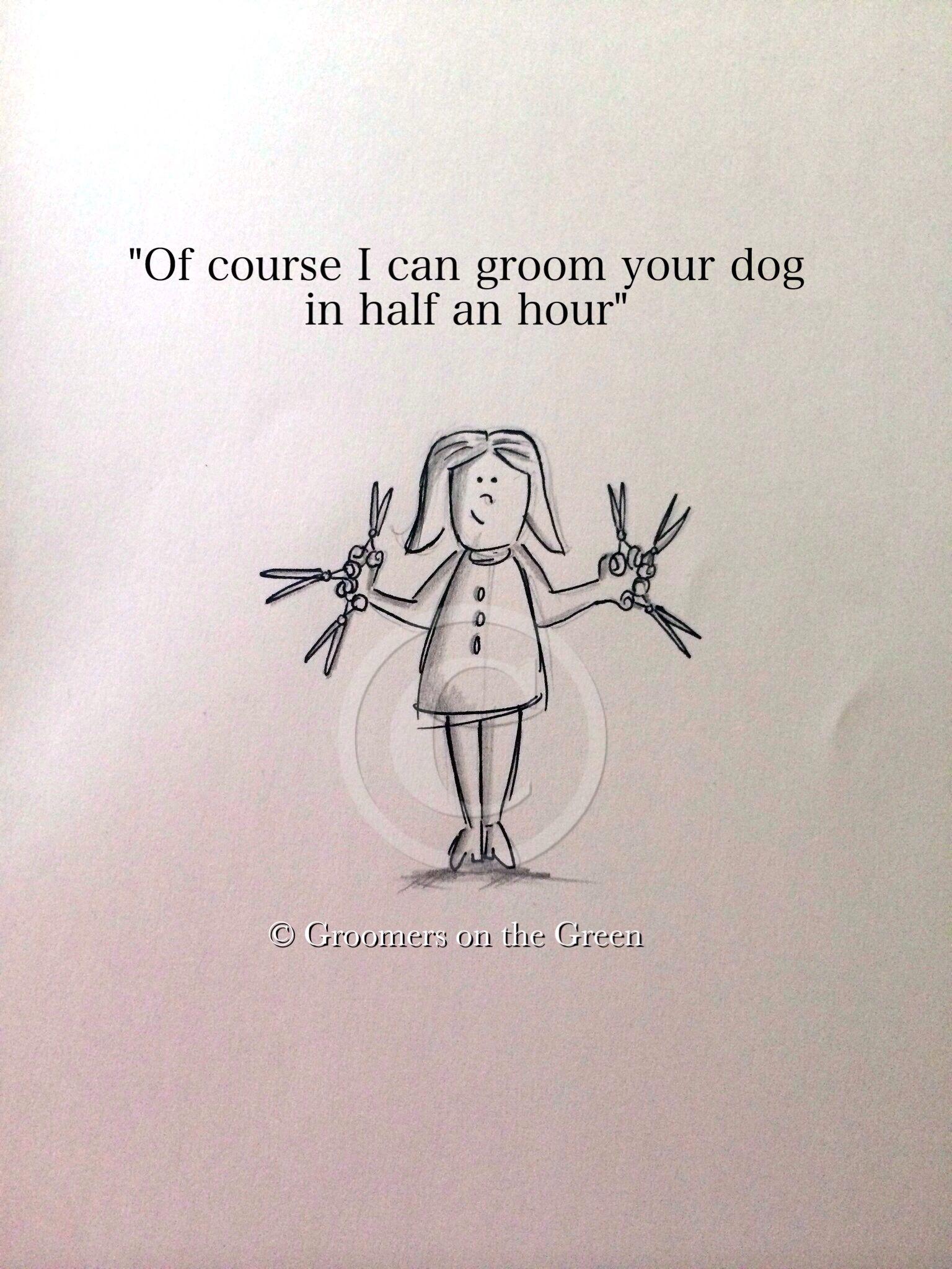 Groomer scissorhands ;)