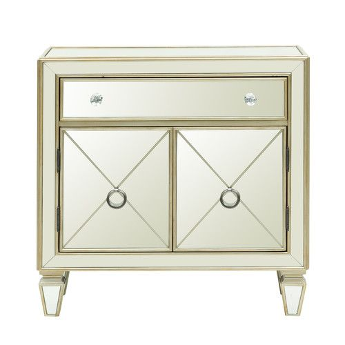 Found It At Joss Main Randall Accent Cabinet Mirrored