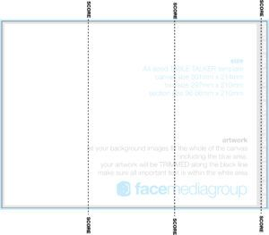 tri fold table tent template word http haloreachstrategyguide