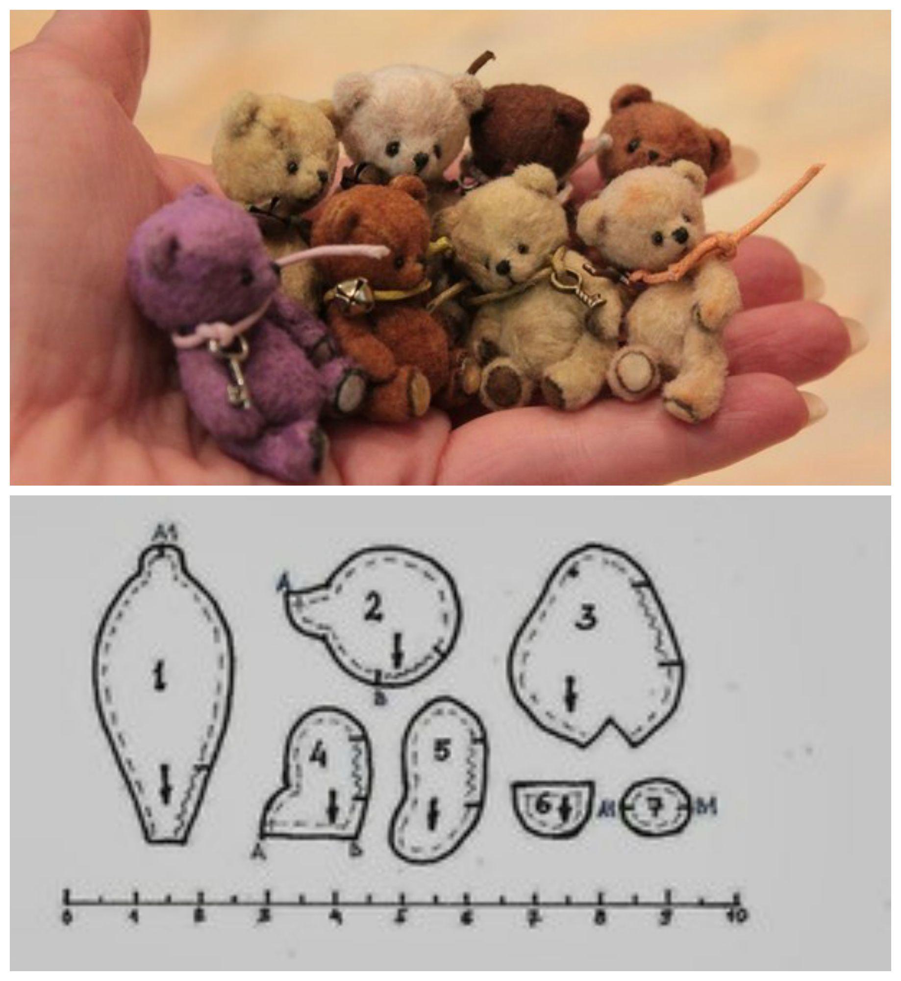 Pin von Petra Breuer auf Teddybären | Pinterest | Bären, Puppen und ...