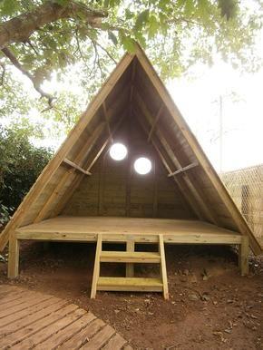 Cabane Ideas For The House Pinterest Cabanes Jardins Et Extérieur