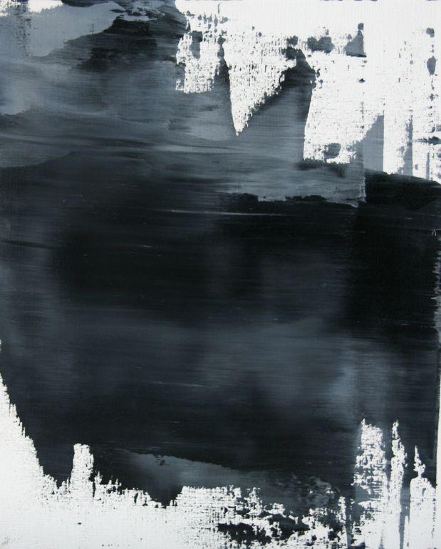 """Koen Lybaert; Oil 2014 Painting """"abstract N° 874"""""""