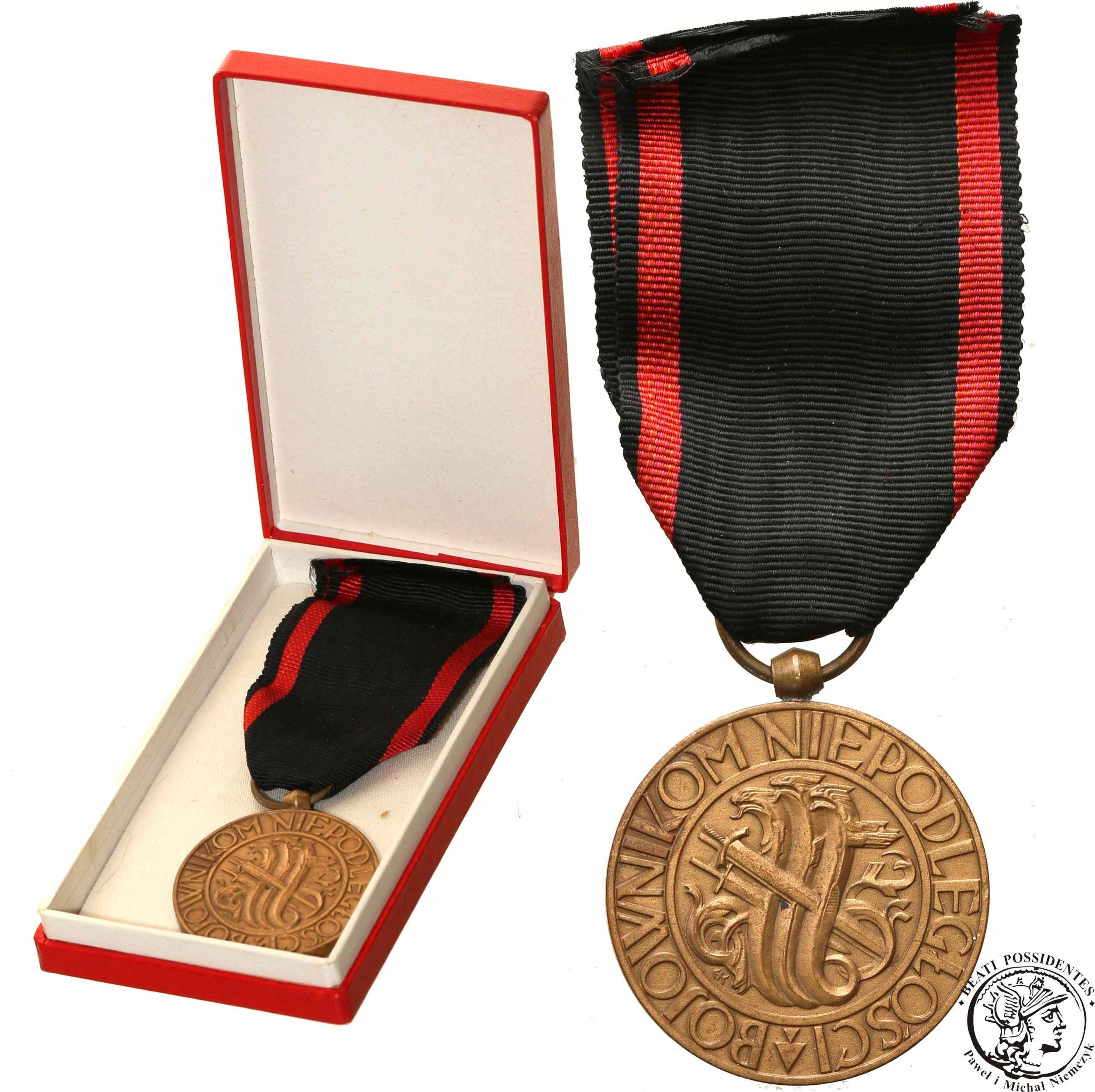 Medal Niepodleglosci Nadanie 1938 Rzadkie 6769306389 Oficjalne Archiwum Allegro Medaille Militaire