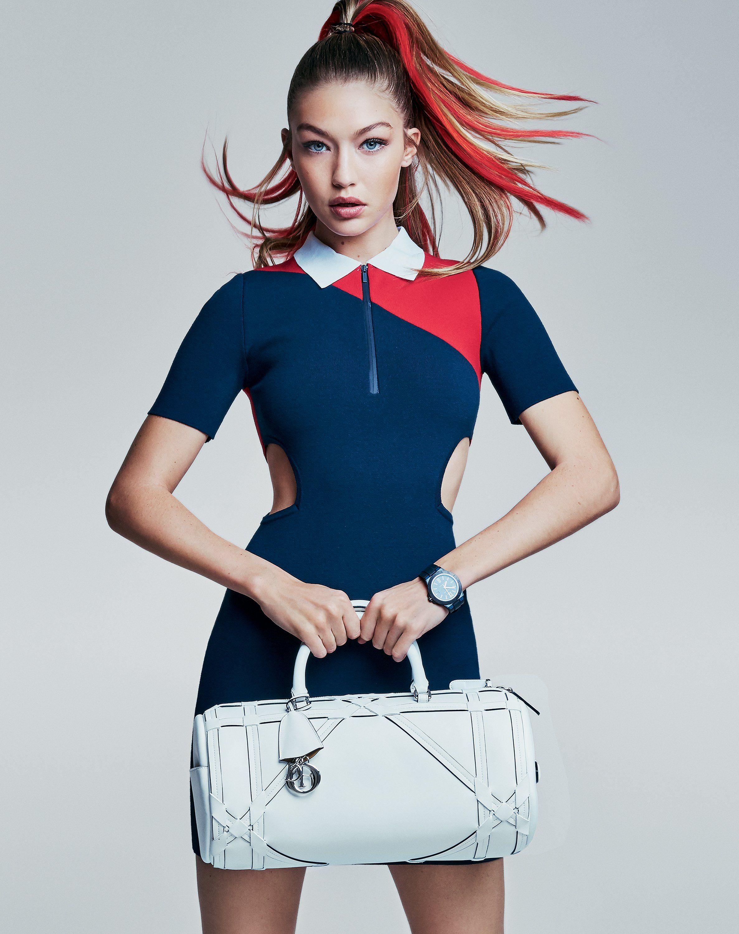 Gigi Hadid and Lily Aldridge in the Best Sporty, Bold ...
