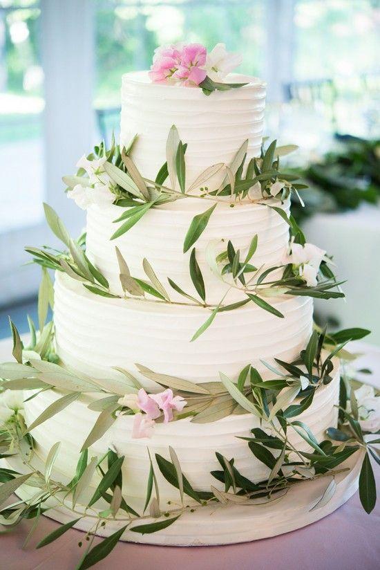 Pink White Wedding Cake Maryland Mary Kate