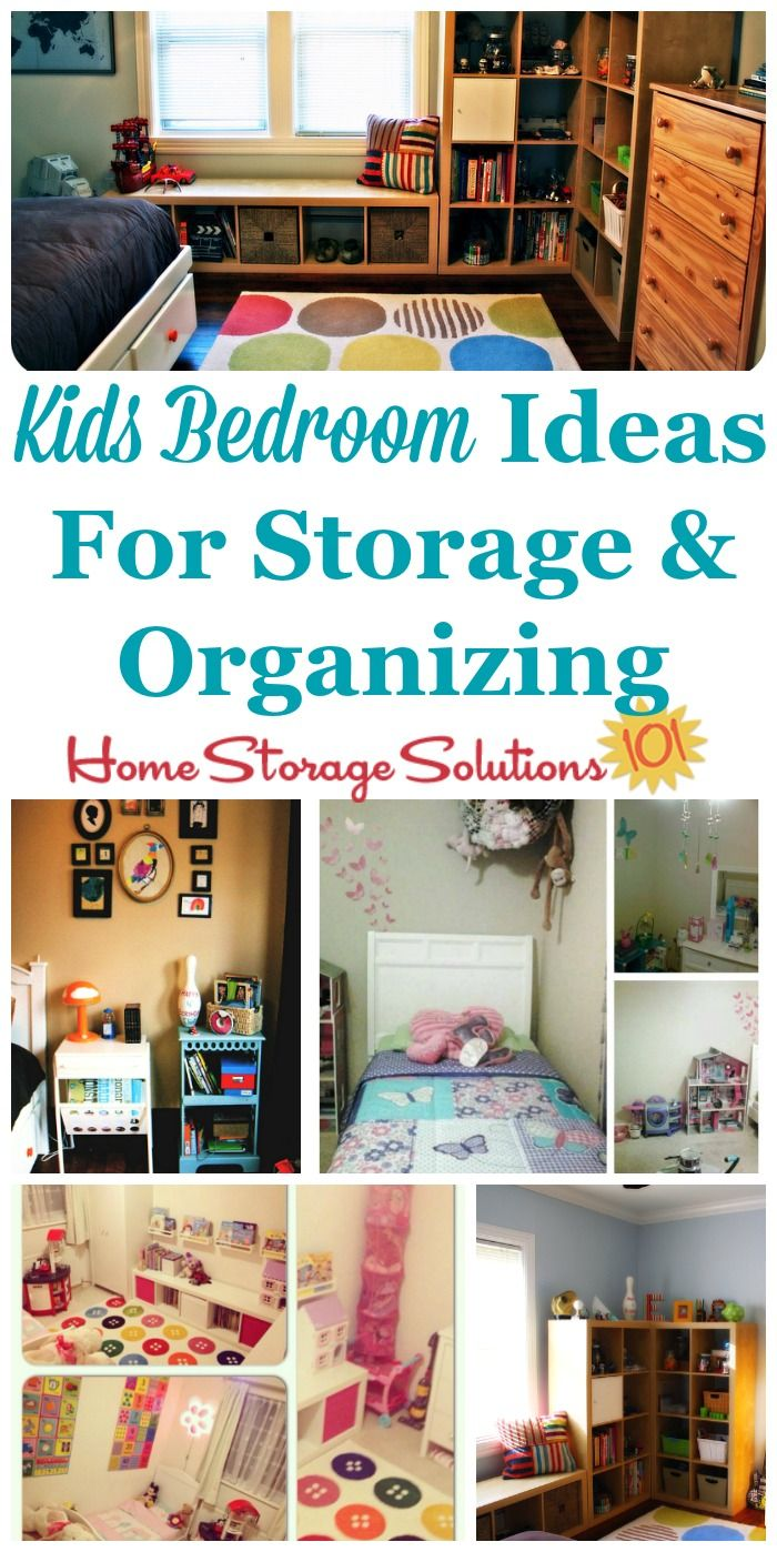 Kids Bedroom Ideas For Storage And Organization Of Clothes Toyore On Home Solutions 101
