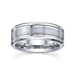 jcpenneycom tungsten wedding band mens 8mm - Jcpenney Mens Wedding Rings
