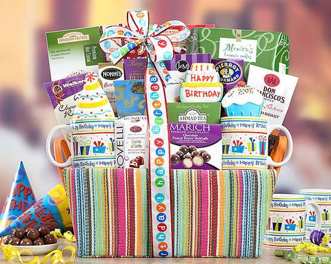Happy Birthday Gift Basket Shopts