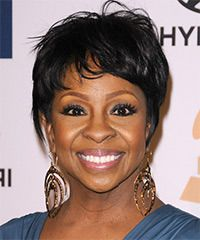 Gladys Knight Hairstyle: Casual Short Straight Hairstyle
