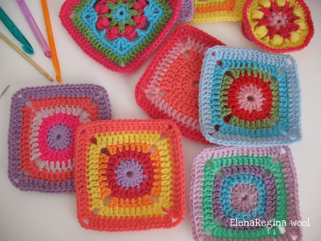 ElenaRegina wool: cerchio magico piastrellina 14